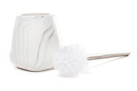 Ершик для туалета с подставкой Мрамор (851-212), фото 2