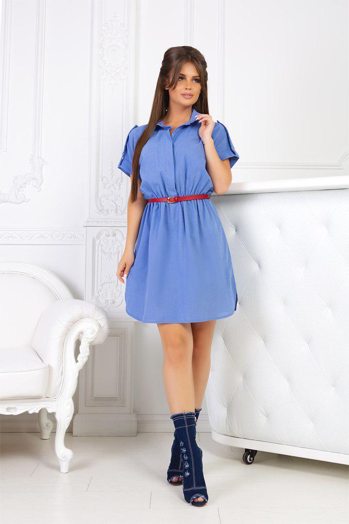 ba992b5cc13 Женское платье-рубашка из льна  продажа