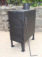 Печь дровяная с варочной поверхностью