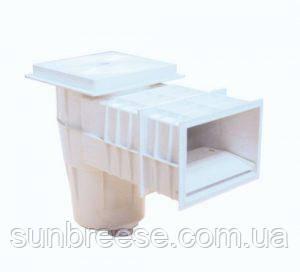 Скиммер для бетонных бассейнов с плавающей заслонкой