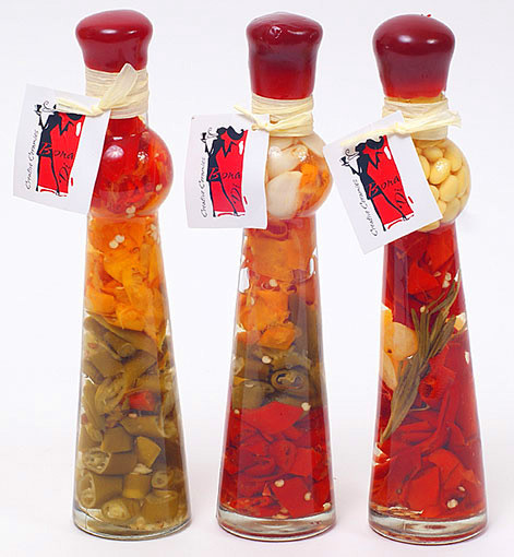 Декоративная бутылка с овощами, 24см, 3 вида 131-081