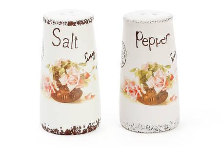 Набор для специй керамический Провансальская Роза: солонка и перечница 935-107, фото 2