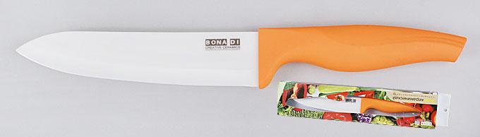 Нож керамический оранжевый, 15см 379-W20