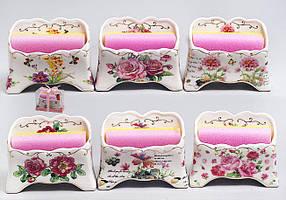 Подставка для губки с губкой 12см, 6 видов 318-95