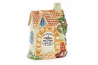Подставка керамическая рельефная для кухоных принадлежностей Домик (без аксессуаров) 590-179