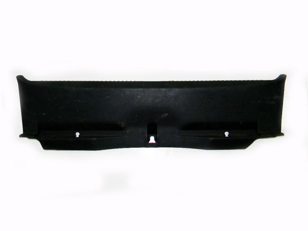 Накладка замка на крышку багажника Mitsubishi Lancer X 07-13 (Мицубиси Лансер 10)  7240A032