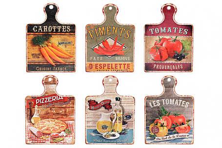 """Подставка под горячее """"Les Tomates"""" в форме доски 858-524, фото 2"""