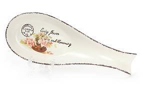 Подставка под ложку керамическая Провансальская Роза 935-103
