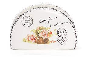Салфетница керамическая Провансальская Роза 935-104