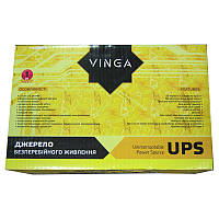 UPS VINGA VPС-600P(LCD); 600VA/360W;  2 евророзетки