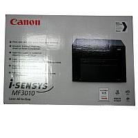 Принтер МФУ Laser Canon MF3010 EU Black