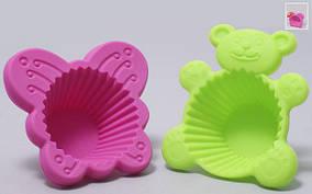 Набор силиконовых форм для выпечки (2шт), 2 вида SE073