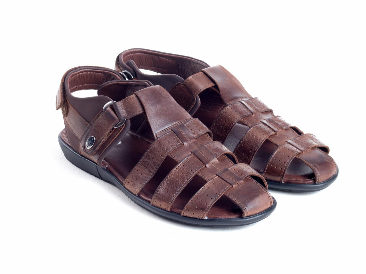 Сандалії Etor 637-13203-2 коричневий