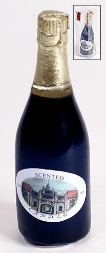 Декоративная свеча Шампанское, 13.5см 308-B49