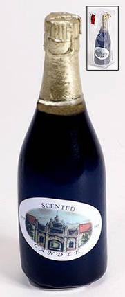 Декоративная свеча Шампанское, 13.5см 308-B49, фото 2
