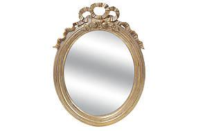 Зеркало овальное в раме 55см, цвет - золото 440-132