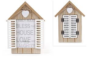 Фоторамка деревянная настольная Окно со ставнями 443-550