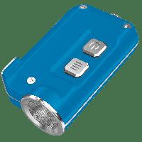 Фонарь Nitecore TINI (Cree XP-G2 S3 LED, 380 люмен, 4 режима, USB), Blue