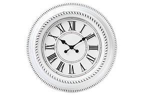Часы настенные 50.8см, цвет - состаренный белый 452-213