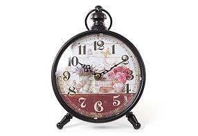 Часы настольные металлические ретро Натюрморт 412-411