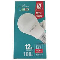 Лампочка  светодиодная Titanium A60 12W E27 4100K (Супер цена!!!)