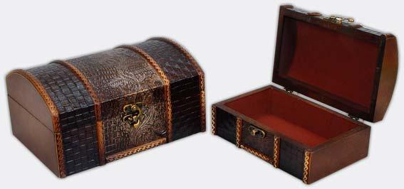 Набор деревянных шкатулок (2шт) 405-150