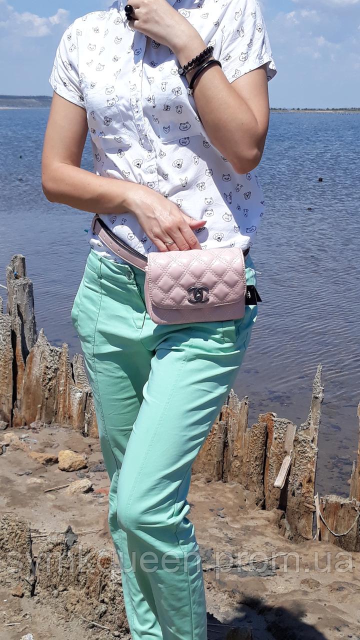 02482ef99fbe Женская брендовая сумка Шанель ( Chanel) на пояс. Поясная сумка под Шанель  (копия) с логотипами
