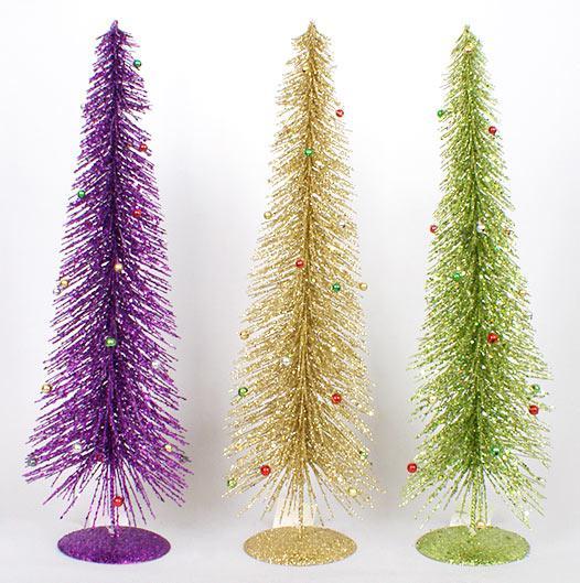 Декоративная елка 50см, 3 вида NY12-115