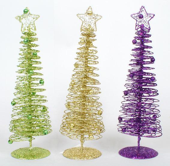 Декоративная елка 30см, 3 вида NY12-103