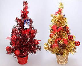 Декоративная елка в горшке, 45.5см, 2 вида 183-T21