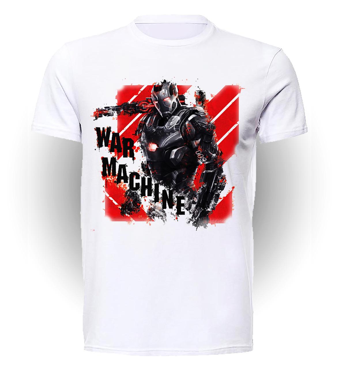 Футболка мужская GeekLand Железный Человек Iron Man war machine art IM.01.037