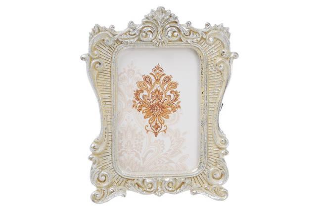 Украшение-подвеска Рамка для фото 12.5см, цвет - серебро с патиной 440-140, фото 2