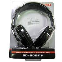 Наушники с микрофоном REAL-EL GD-900MV с рег. громкости( black )