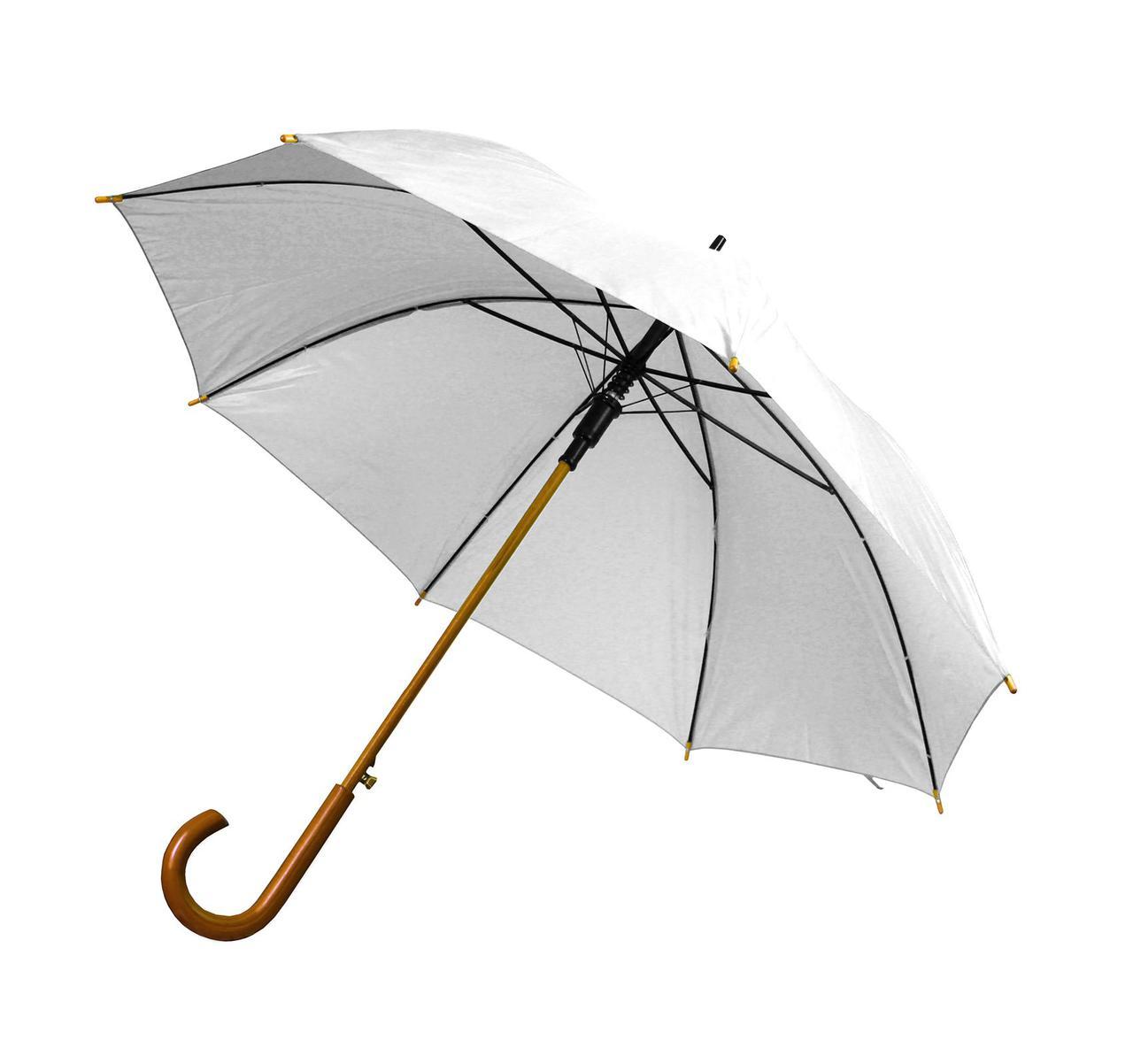 Зонт-трость полуавтомат. 11 цветов.