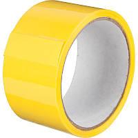 """Скотч 48* 50м """"Inter Tape"""" (40мк) желтый"""