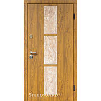 Двери Steelguard Stone-V golden oak