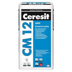 Клеящая смесь Gres CM 12, 25 кг