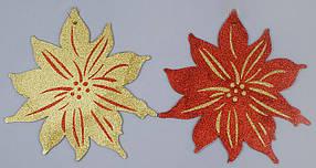 Новогоднее панно Рождественник, 30см, 2 вида 134-400