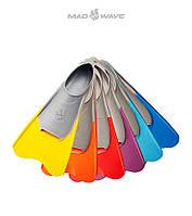 Короткие ласты с закрытой пяткой Mad Wave Pool Colour Short Fins, фото 1