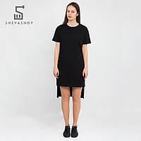 Женская туника UP  BASIC BLK, черная, фото 1