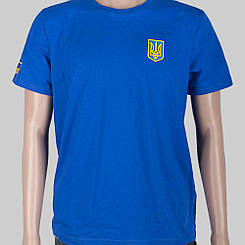 Футболка Українська символіка синя Fanstuff