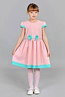 Праздничное детское платье со стразами, фото 1