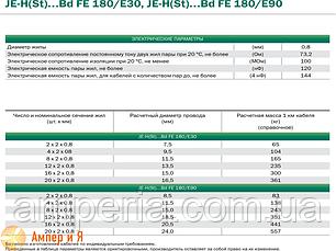 Кабель JE-H(St)H FE180/E30 1х2х2,5, фото 2