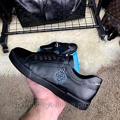 Dolce & Gabanna Portofino Sneakers Black реплика