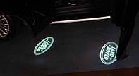 Подсветка логотипа авто на двери Land Rover