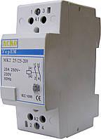 Модульный контактор MK2 2p 25A 2NO