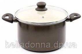 Кастрюля для индукционной плиты 6,8 л Bergner BG 6999