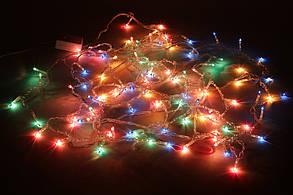"""Гирлянда """"Занавес"""" 1.36*0.35м, 100 лампочек, разноцветная, 8 режимов 770-270, фото 3"""