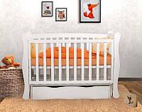 Детская кроватка L 1 Premium  (Белый цвет)