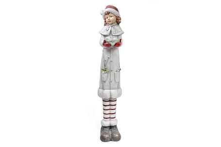 Новогодняя фигура Девочка 117см 820-110, фото 2